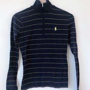 Mock neck golf top